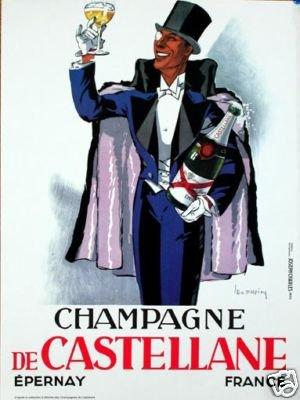 Champagne Castellane 1980 Dupin reprint by Castellane