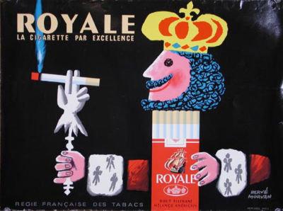 Royale Herve Moran c1950 poster