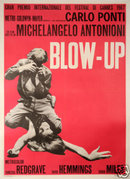 Blow UP on linen excellent 39 x 55 inches original 2nd printing
