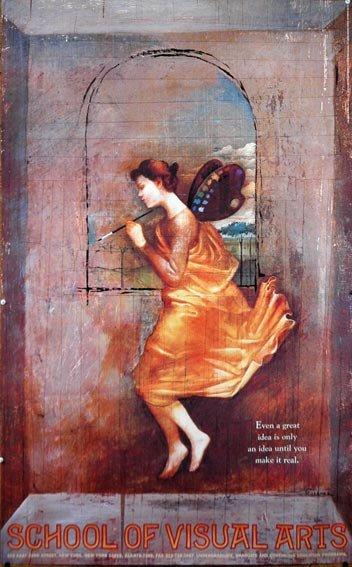 School of Visual Arts Poster by Saplenka