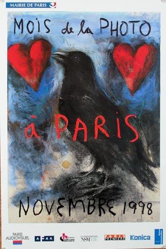 Jim Dine Poster Mois de La Photo a Paris 1998
