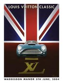 Louis Vuitton Waddesdon Manor by Razzia medium poster