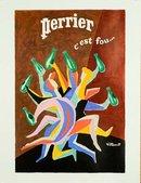 Perrier C'est Fou (Legs) Rare