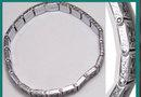 Vintage ART DECO  FILIGREE Bracelet 85 green glass Stones  GRILL work hinged bracelet
