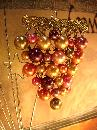Huge Vintage Baroque Pearl Chandelier Brooch
