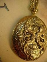 They came from the sea Mermaid Locket necklace with beautiful goddesses
