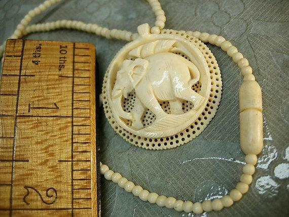 tooth your a necklace how make elk out to pendant of ivory