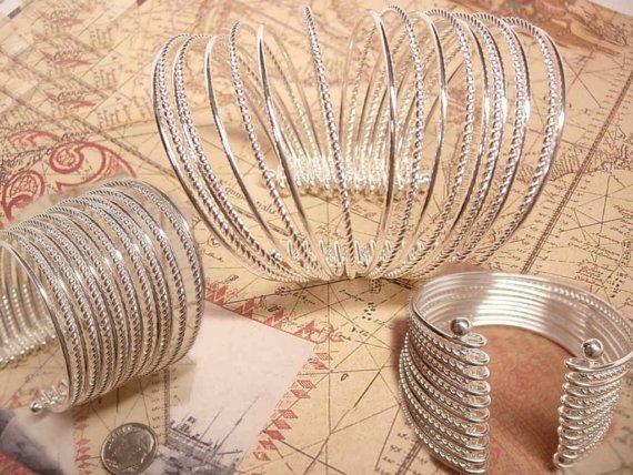 Modernist MEchanical 19 band 2INCH WIDE  cuff bracelet