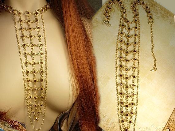HUGE Renaissance necklace 10