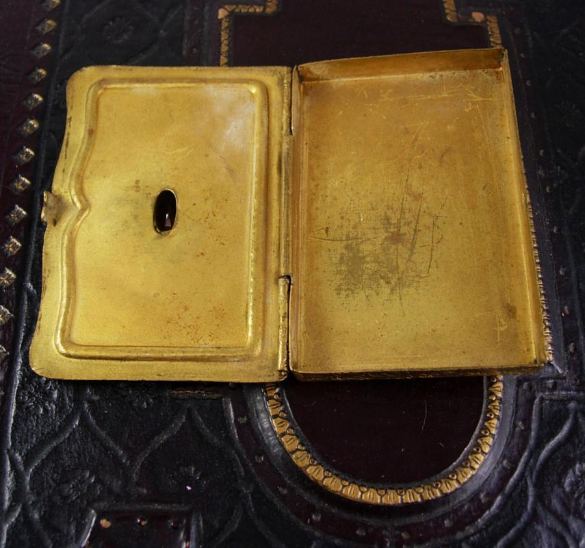 Antique Austro Hungarian Calling card case  GRAND TOUR Jewels