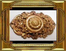 VICTORIAN HUGE ANTIQUE LAYERED BROOCH
