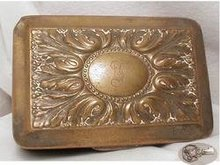 1800's Eoff & Shepherd silver fancy  hinged box