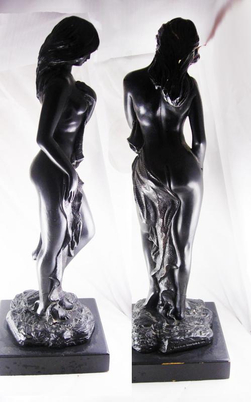 Vintage Austin Nude statue 17