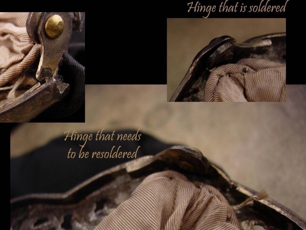 Antique Purse / Hallmarked 800 silver / CHERUB Snake frame / SIGNED Victorian handbag / black silk with mirror
