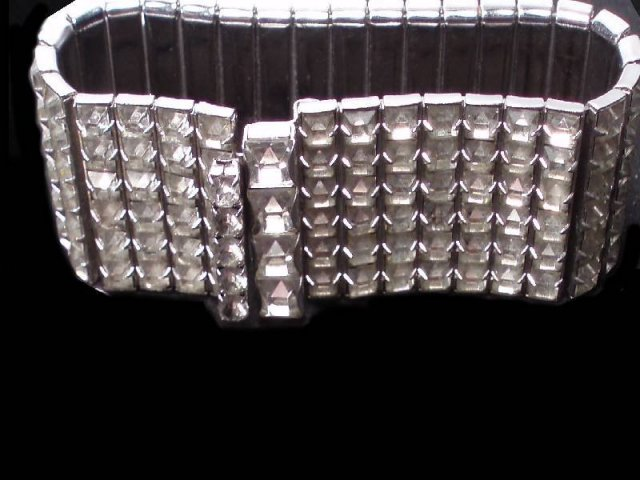 HOLLYWOOD Glitz 500 glass Rhinestone Parure