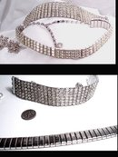 HOLLYWOOD Glitz 500 glass Rhinestone Parure
