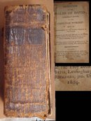 1804 Psalm David Leather MINIATURE book