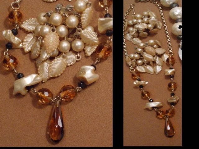 LOT jewelry Scottish Retro parure sterling