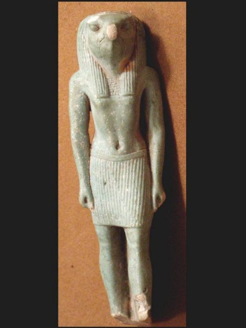 ANCIENT Egypt CLAY Ra SUN GOD B.C. belt