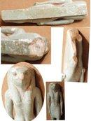 ANCIENT Egypt CLAY Ra SUN GOD B.C. belt