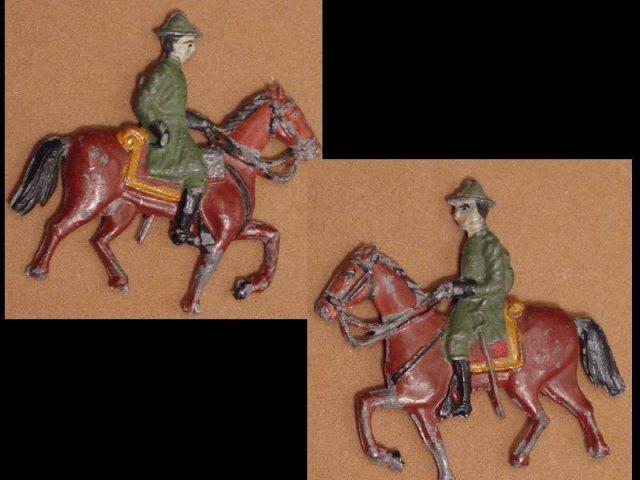Civil war ? MEtal soldier and horse