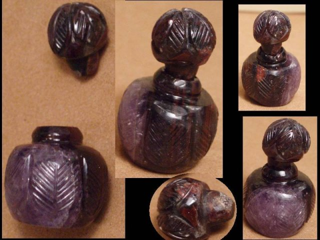 Victorian MINIATURE Siberian Amethyst prefume