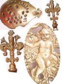 RARE MERMAID SNAKE WOMAN Cherub spoon