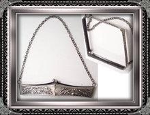 Antique art Nouveau mechanical Purse frame