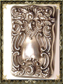 Exquisite Victorian Repousse ornate Matchsafe
