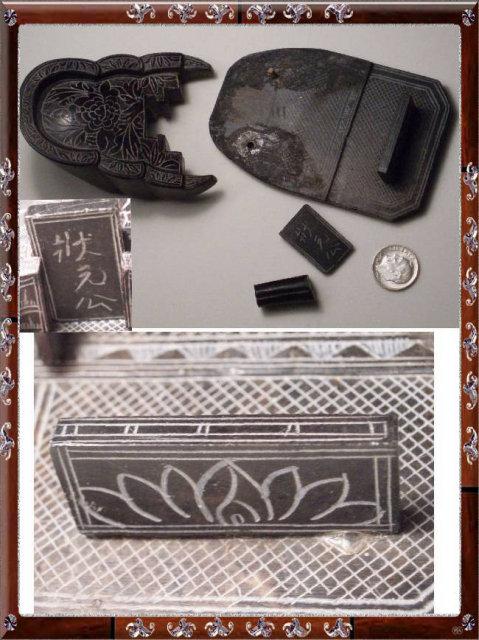 ANtique Chinese sarcophagus Grand TOur Coffin