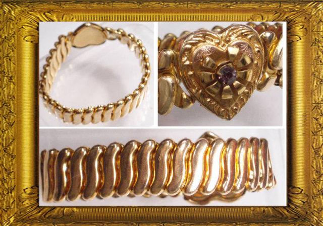 Deco amethyst SWEETHEART expansion bracelet