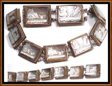 Victorian Mythological CAMEO bracelet BOOK REF