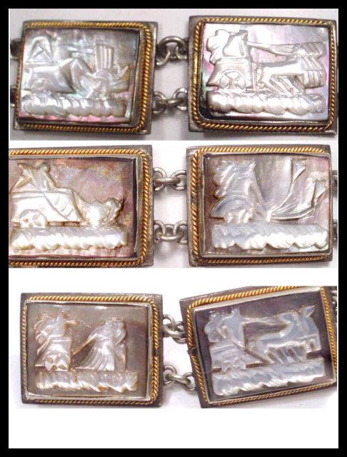 Victorian Mythological CAMEO bracelet BOOK REF