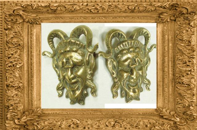 Vintage BIZARRE DEVIL Mythology BROOCH