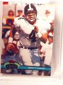 1991 UNUSED Brett Farve stadium football card