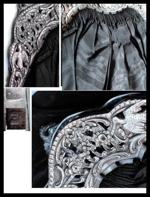 Hallmarked silver CHERUB Snake SIGNED purse