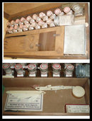 Antique German Full dental kit & rosewood box