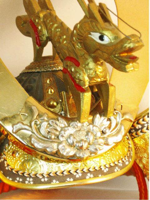 Bizarre Exotic Chinese dragon HEaddress helmet
