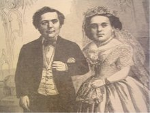 Rare Tom Thumb Wedding 1863 Two copies