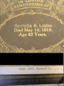 Vintage 1800's Death funeral Remembrance Cards Postmortem