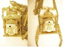 Vintage Exotic  Japanese Buddha necklace