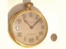 HUGE Vintage Waltham CAR clock POcket watch UNUSUAL PIECE