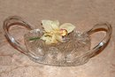 Vintage Crystal Clear Wilardy Starburst Lucite Purse