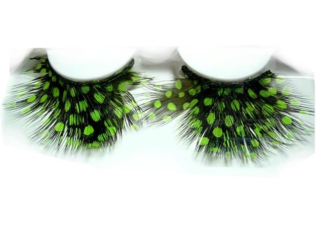 Peacock Feather Fetish Sexy long Eyelashes GREAT for Halloween