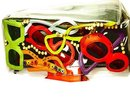 GLAMOUR Queen FUNKY designer Retro Jelly pop art cats eye sunglass purse