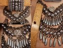 Statement Chandelier necklace HUGE bracelet EDWARDIAN style DRAMATIC