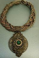 Gothic Baroque Renaissance collar necklace antique pendant snake necklace