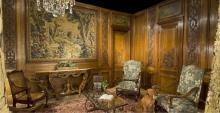 Antique Napoleon III Boiserie Room, Paris C. 1880
