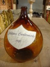 Antique 'Demi John' Wine Bottle from France