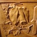 Antique Counter from Aveyron France, Circa 1900